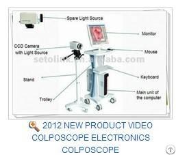 2012 New Product Video Colposcope Electronics Colposcope Rsd3500