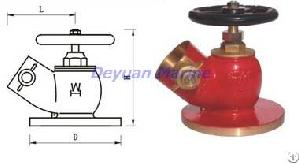 45 Degrees Flanged Fire Hydrant