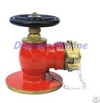 90 Degrees Flanged Fire Hydrant