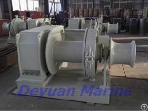 Hydraulic Windlass Mooring Winch