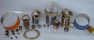 du bushing bimetal bearings sliding bushings petf pom