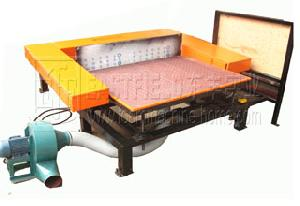 contour foam cutting machine sponge cuting machinery