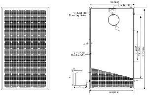 solar panel 175w