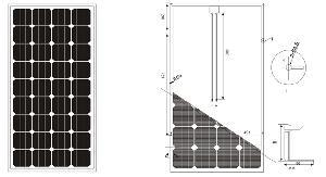 solar panel 5w 280w cssm75