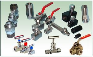 ball valve needle manifold check flow control