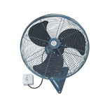 regulative oscillating industrial exhaust wall fan