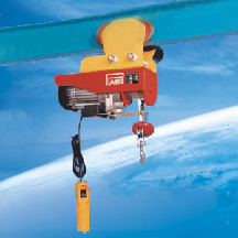 moving electric hoist wire rope