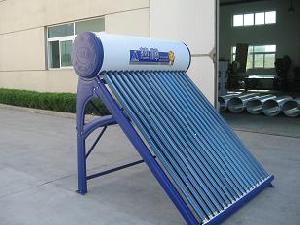 compact non pressurized solar water heater