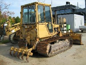 caterpillar dozer d4cm build 1989 5 193hrs transmission defect