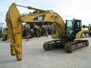 caterpillar track excavator 322cln build 2004 6096 hrs condition