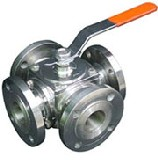 four ball valve manufacturer multiport multiway supplier
