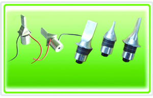 ultrasonic collar cleaning transducer