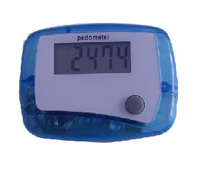 pedometers step counter distance calorie logo branding