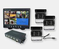cctv multi camera rear vision systems buese trucks