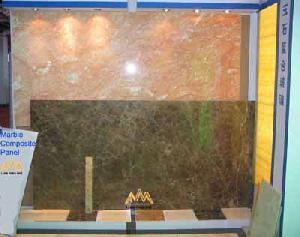 aluminum honeycomb backed thin stone panel