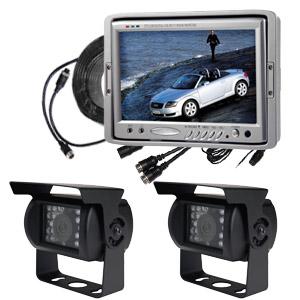 reversing camera system cctv 7 tft lcd monitor