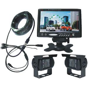 trailer reversing camera system 7 tft lcd monitor cctv