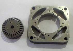 shade pole motor steel stator stacker silicon sheet plate