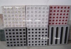 tactile paving tiles