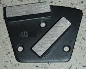 metal bonded diamond grinding plate concrete floor