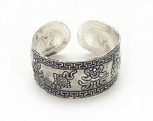 tribal miao silver jewelry bracelet