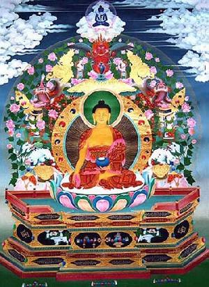 tibetan thang ga paintings