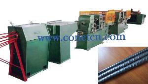 cold rolled steel wire ribbing line