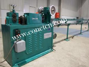 steel wire cut straighten machine