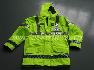 police jacket liquid repellent air permeable
