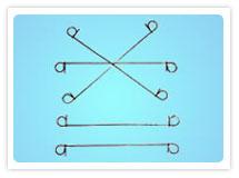 bar tie wire loop binding