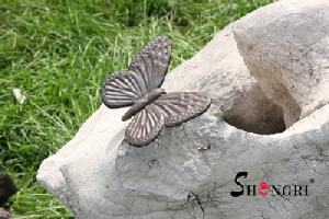cast iron butterfly figurine