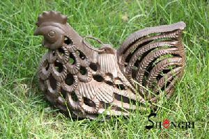cast iron cock lantern