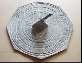 cast iron sundial