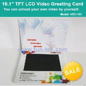 Lcd module digital greeting card vgc 101 video brochure advertising 101 inch lcd video brochure mini advertising player video mailer 2gb flash 1080p hd vgc m4hsunfo