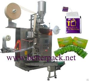 Tea Bags Machines Wanted Automatic Tea Bag Packaging Machine With Outer Envelope Bag