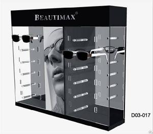 Acrylic Glass Display Cabinet / Tank Equipment For Famous Brand Sunglasses