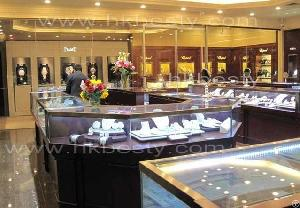 Brand Name Jewelry Store Showcase Furniture Watch Display Case