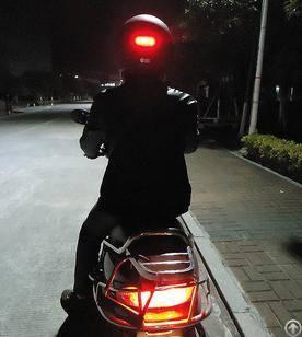 led wireless motorbike helmet brake light