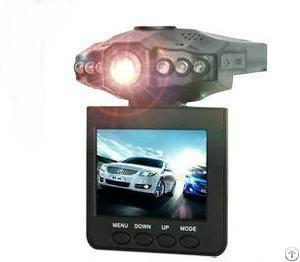 mini portable hd car dvr 2 5 270 degree rotatable 6 night version ir leds