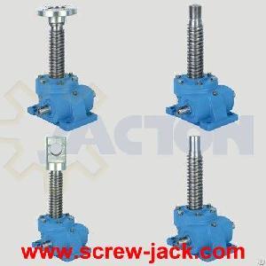 High Lift Screw Jack, Scissor Lift Gear Mechanism, Long Stroke Screw Jack, Long Travel Actuator Lift