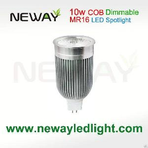 brightness dimmable 10w mr16 led spotlight 12v 2 spots