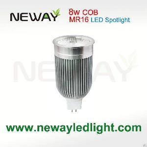 cob 8w mr16 gx5 3 led spotlight lighting ac dc12v 38 60 beam angle spot lamp