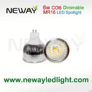 dimmable 6w mr16 led spot light 400lm 450lm 75ra scr dimming spotlight