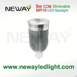 dimmable 8w mr16 led spotlight home 3000k 6500k 600lm 650lm spot lamp manufacturers