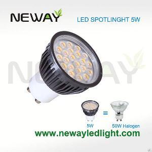 led spot light gu10 5w 430lm ac85 265 replace 50w halogen lamp
