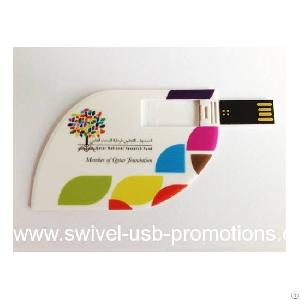 tree leaves shaped mini usb card drive