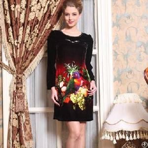 flower sleeve dresses women