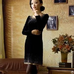 newly sleeve cheongsam dress
