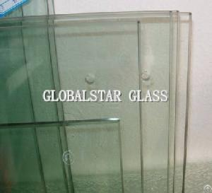 4mm 12mm clear tempered glass door bathroom table
