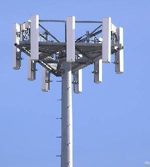 monopole tower distribution pole mast